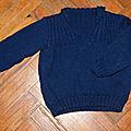 Je tricote pour un petit homme