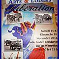Exposition arts et loisirs les 15 et 16 novembre 2014 à leers