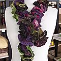 Echarpes crochet ou tricot modulaire