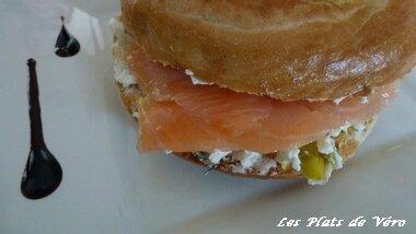 bagels saumon