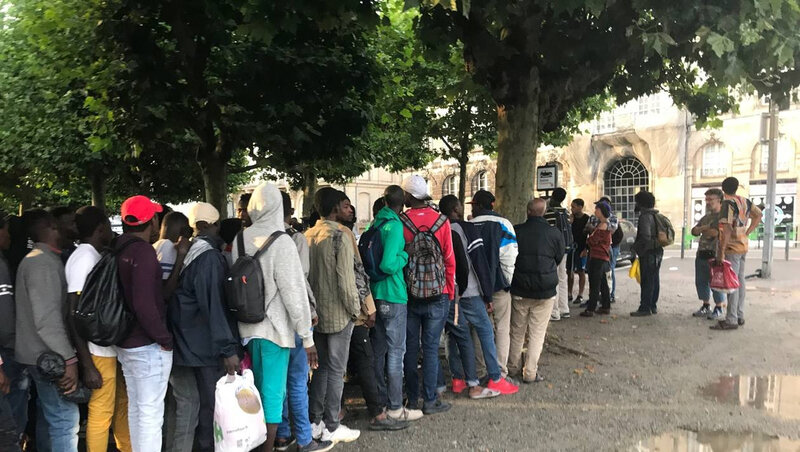 Migrants Nantes