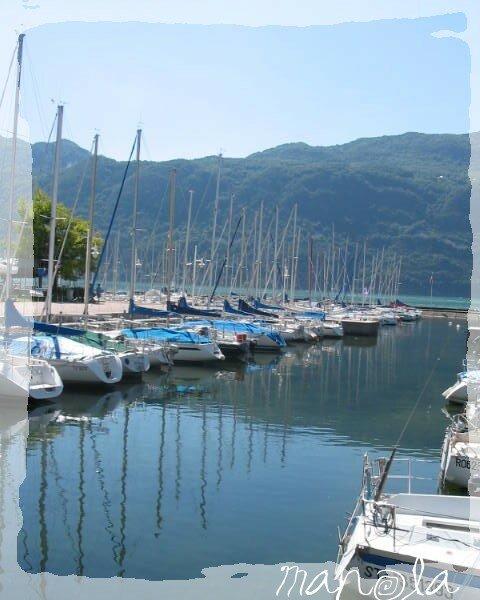 petit port dans les Alpes