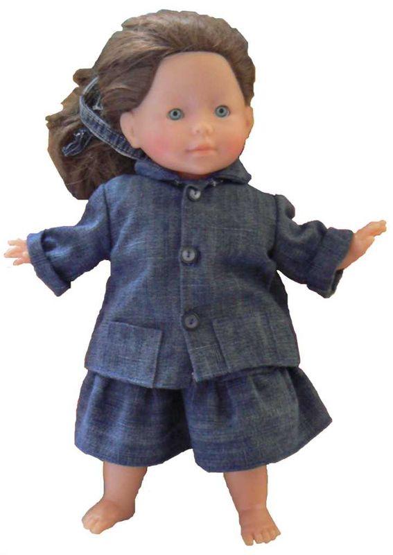 poupée avec ensemble compressé