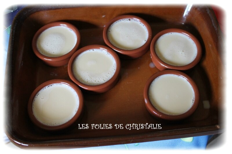 Crème brulée amandes 3