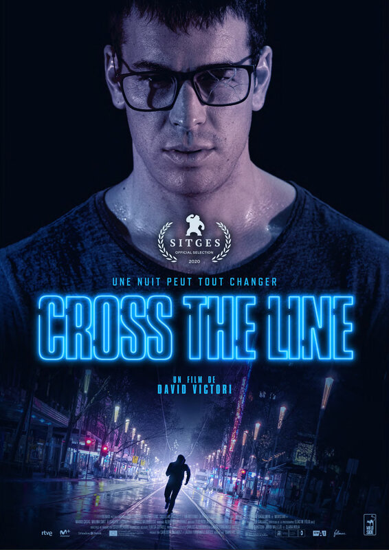CROSS THE LINE-Affiche