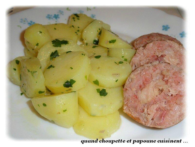 salade de pommes de terre et andouilles du val d'ajol-1