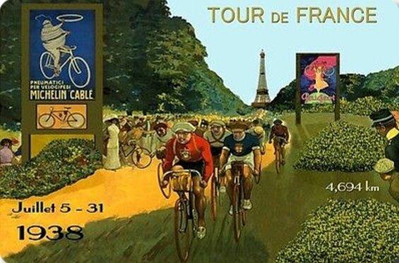 CPM Tour de France 1938 Affiche R