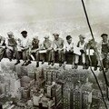 Lewis hine, lunch on a skyscraper