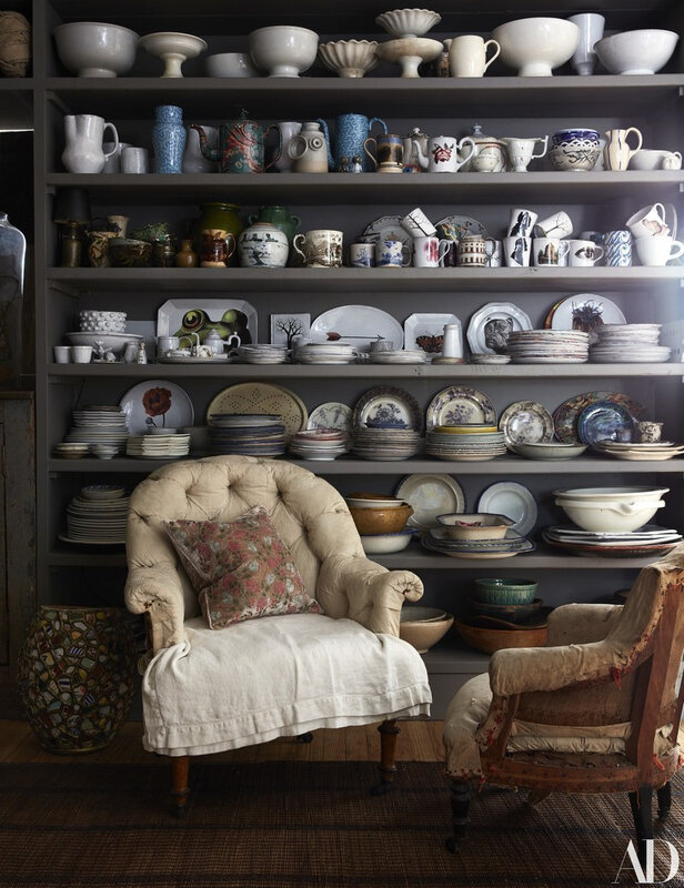 Vintage Eclectic Manhattan home of John Derian photos by Stephen Kent Johnson (7)