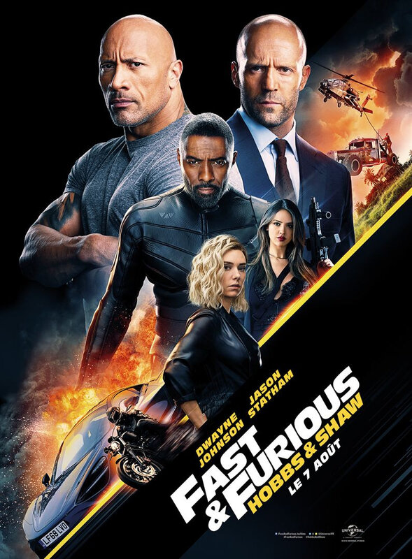 Hobbs and Shaw affiche