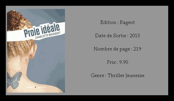 Charlotte Bousquet - Proie Idéale