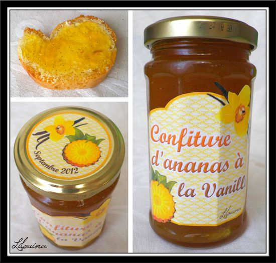 confiture ananas