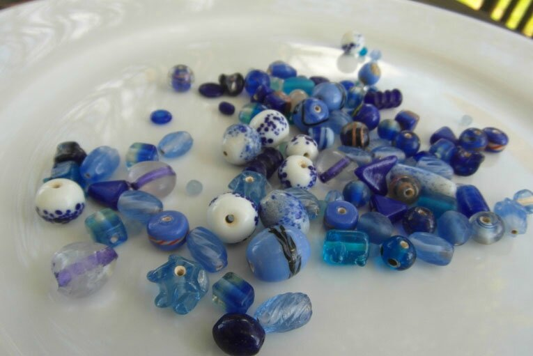 perles fancy bleues 4