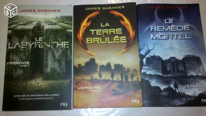 La Trilogie livresque de James Dashner