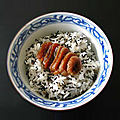 Abricot confit à la sauce soja