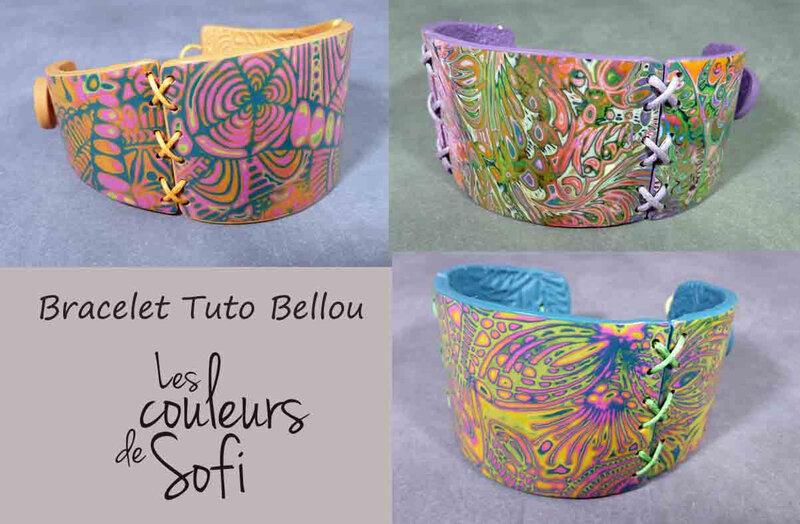 3 bracelets Bellou