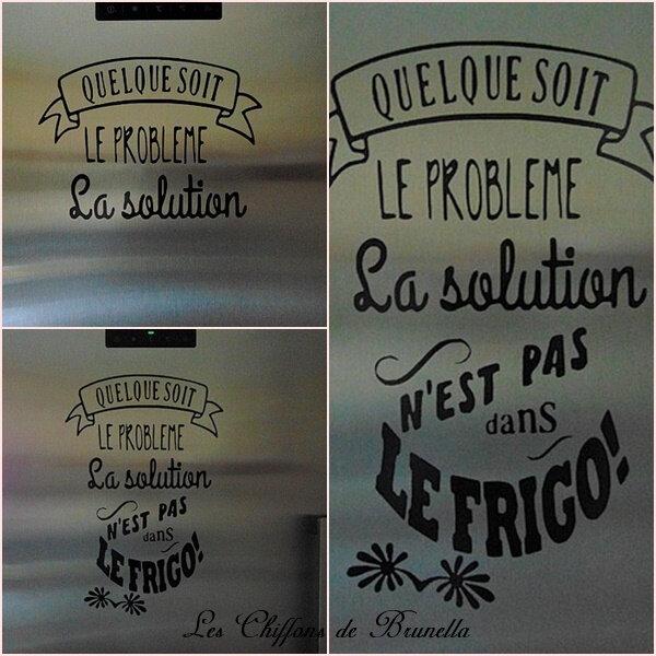 Stickers Pour le Frigo 2