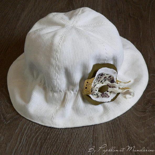 Chapeau crème