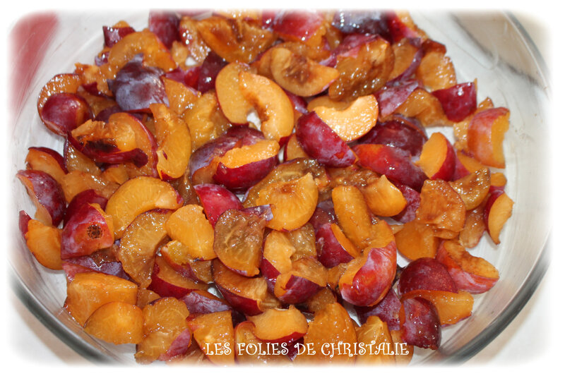 Clafoutis fruits 6