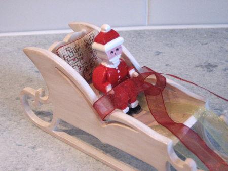 père Noël pour traineau 2008