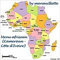 Menu africain