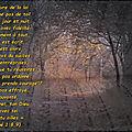Josué 1:8,9 (verset illustré) ... car l'eternel ton dieu est avec toi où que tu ailles.
