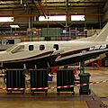 Aéroport Tarbes-Lourdes-Pyrénées: Daher-Socata: Socata TBM-700/850: F-WW??: MSN 594.