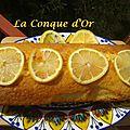 Plumcake au citron et à l'huile d'olive