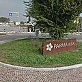 Rond-point à parme (italie)
