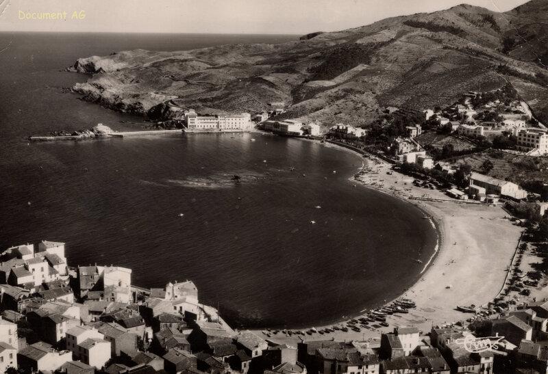 697 La Plage, la Baie et le Laboratoire Arago 1957
