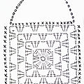 vanillejolie crochet granny square