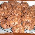 Bon cookies au daims et chocolat noir!