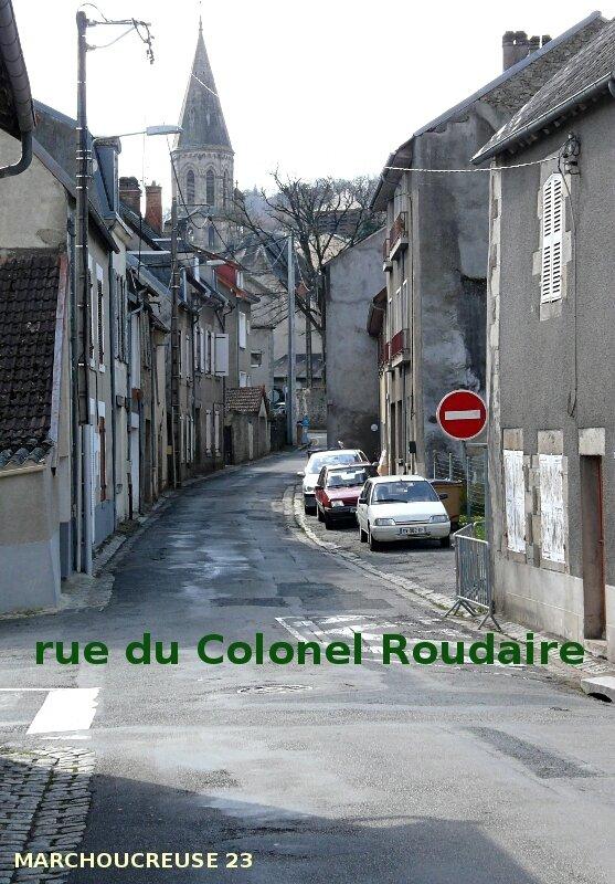 rue du Colonel Roudaire