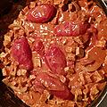 Colombo de tofu au curry et à la cannelle