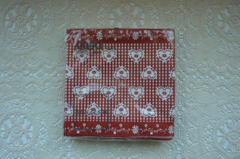 20 - serviettes de table