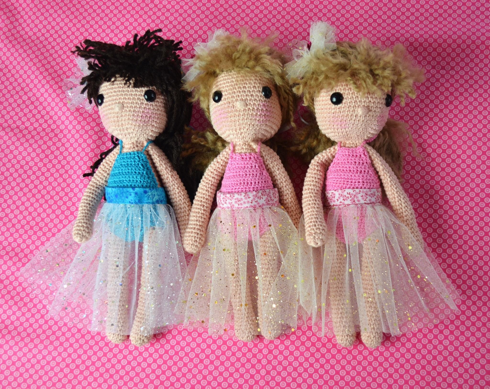 poupée au crochet- crochet- La chouette bricole (8)