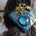 Petit tour de magie ... bleu et or
