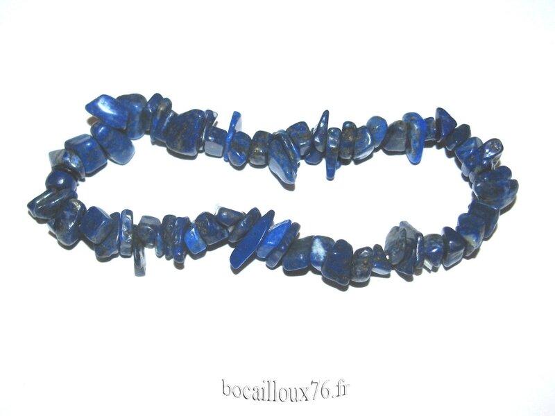 Bracelet LAPIS-LAZULI 14 Chips (3)
