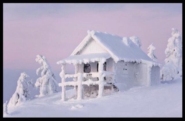 chalet neige 3