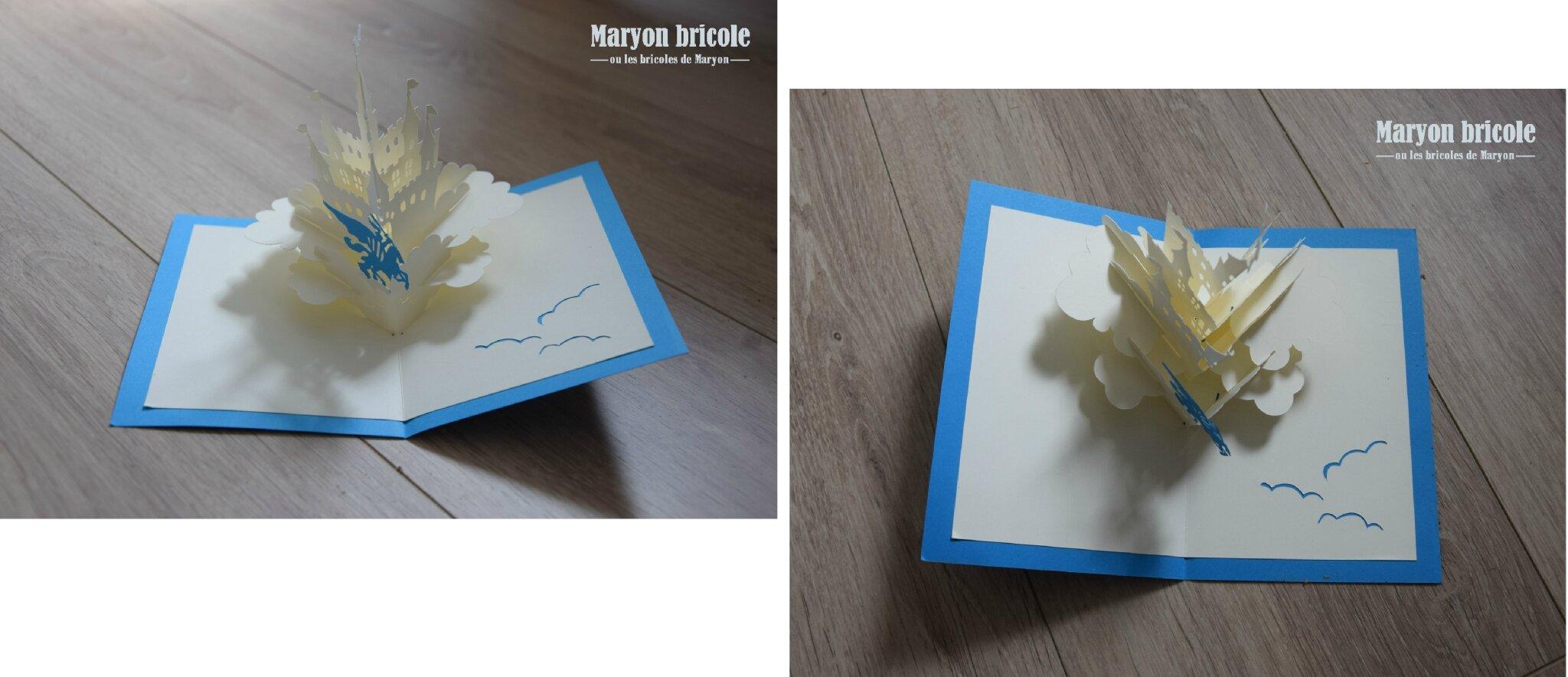 Carte De Voeux 3D A Fabriquer juillet 2016 : tous les messages - maryon bricole, ou les