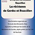 25 juin-12 juillet 2019 à saint saturnin lès apt: exposition