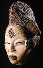 masque antropomorphe africain