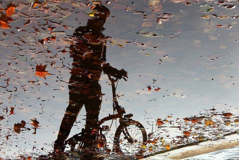 3-Reflets, flaque, automne_7539