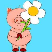 Marguerite et cochon 2