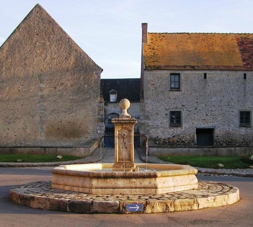 La fontaine du village
