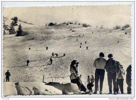 Ski années 50