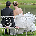 Bijou de dos mariage, pendentif de dos céleste fil argenté
