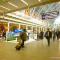 Gare d'arrivée ) St Pancrass
