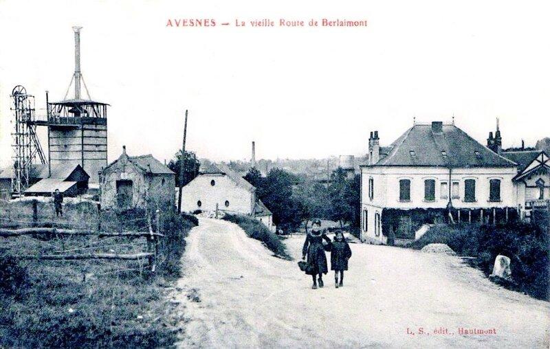 AVESNES-La Vieille route de Berlaimont