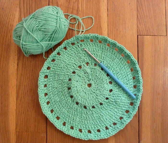 32 Tapis crochet Phildar